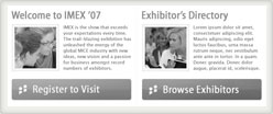 screenshot from our IMEX project